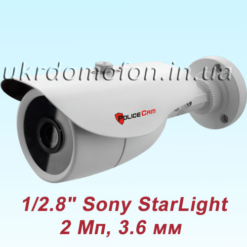 IP камера PC-423IP1080 StarLight PoliceCam фото
