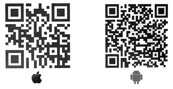 qr код для загрузки программы управления GSM охранной сигнализацией на смартфон