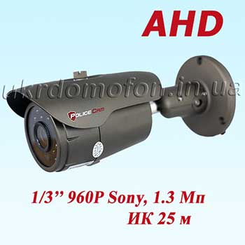 PC-473AHD1.3MP Sony PoliceCam