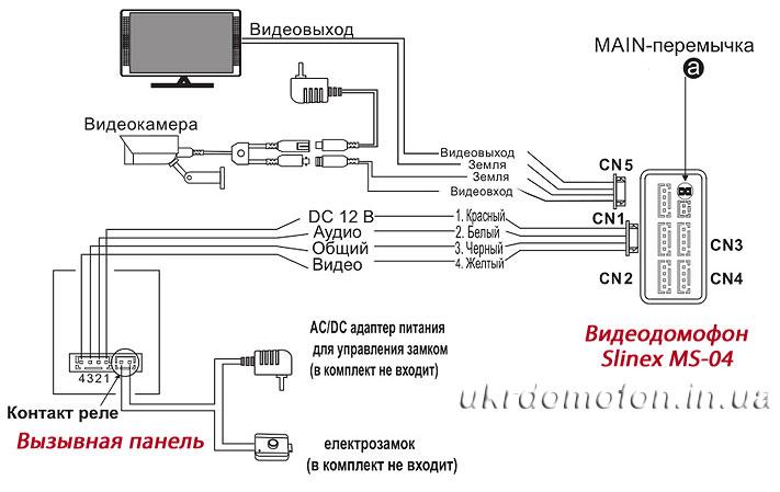 рисунок-схема подключения