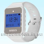 Пейджер–часы официанта R-02 White Watch Pager