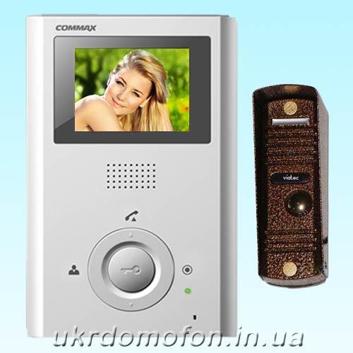 купить Видеодомофон Commax CDV-35H комплект