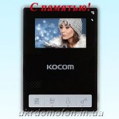 Домофон Kocom KCV-434SD Black
