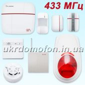 Комплект Wi-Fi / GSM сигнализации Smart & Safe 433 PoliceCam